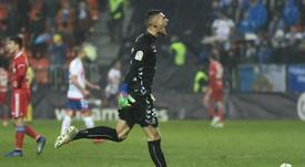 Ander Cantero, portero del Lugo por cuatro años. LaLiga