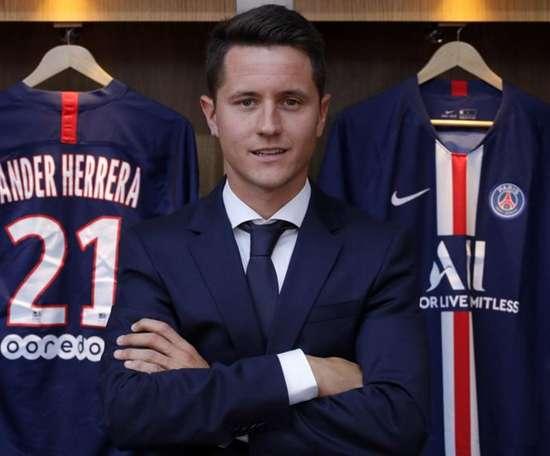 Herrera speaks perfect French. PSG