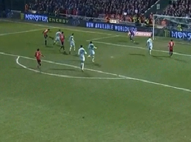 Herrera produced a fine left-footed finish to double United's lead. Twitter