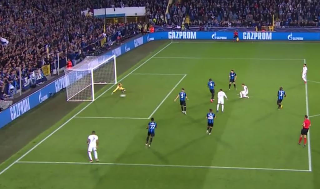Gol de Ander a pase de Mbappé