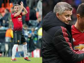 Solsklaer compte sur Mata, Herrera quitte United. BeSoccer/EFE