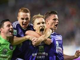 Anderlecht conquista o 34º título belga da sua história. Twitter