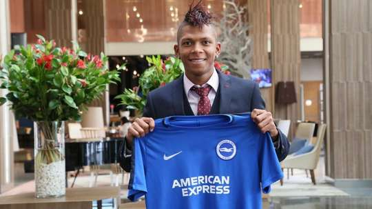 Hughton's side have announced the signing of Ecuadorian Billy Arce. BrightonAndHoveAlbion