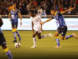 Liga de Quito no pudo con Delfín. LigadeQuito