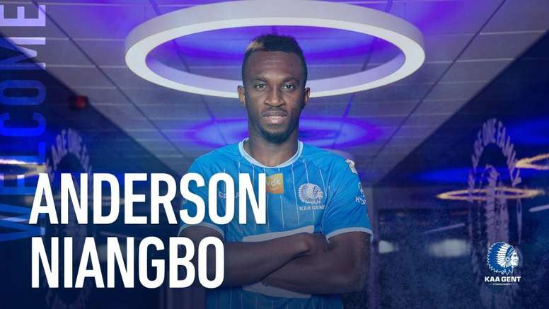 Nueva etapa para Anderson Niangbo. Twitter/KAAGent