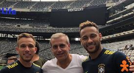 Barça fire key man to sign Neymar. Instagram/andrecurym