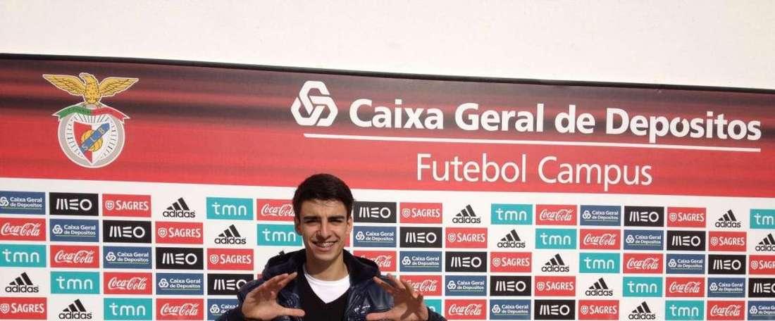 André Ferreira tiene un futuro muy prometedor a sus 20 años. SLBenfica