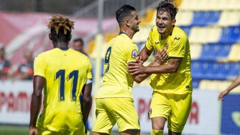 Florin, convoqué avec la sélection U21. VillarrealCF