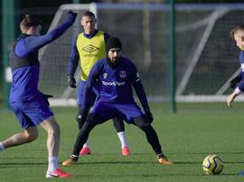 André Gomes, pronto para voltar. EvertonFC