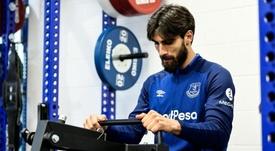 André Gomes hizo un repaso a su carrera. EvertonFC