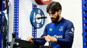 André Gomes e a história da recuperação milagrosa. EvertonFC