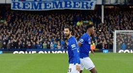 André Gomes recebe alta do hospital. Twitter/Everton
