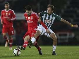 André Horta jugará en el Benfica la próxima temporada. AFP