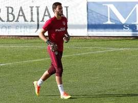 El guardameta jugará la segunda parte de la temporada en Os Belenenses. ClubAtleticoDeMadrid