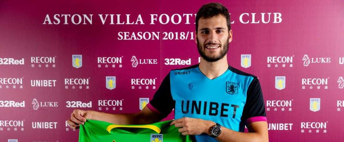 Andre Moreira has joined Aston Villa from Atletico. AVFCOfficial