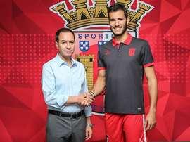 El Sporting de Braga ha incorporado a André Moreira. SCBraga
