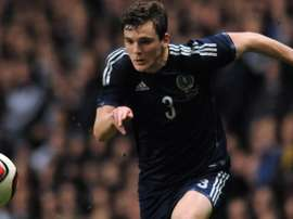 Andy Robertson is Scotland captain. Twitter