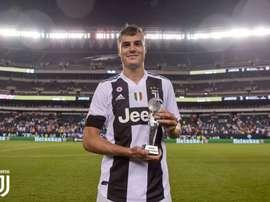 Andrea Favilli dio la victoria a la Juventus. Twitter/juventusfc
