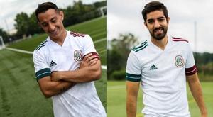 La sélection mexicaine confirme son nouveau maillot visiteur. Twitter/miseleccionmx