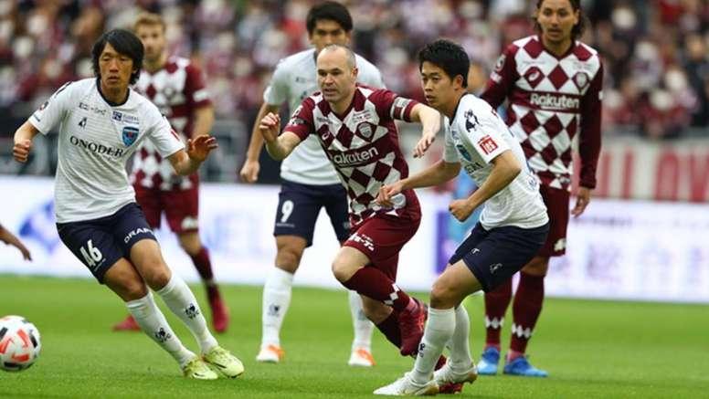 Los de Iniesta reparten puntos con el Yokohama. EFE