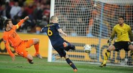 Mata relató el éxtasis del gol de Iniesta en Sudáfrica. EFE