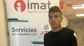 Andrés Roa estará de baja de uno a dos meses. CAHuracan