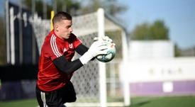 Lunin fue convocado por la Selección Ucraniana. RealValladolid