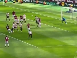 Andriy Yarmolenko scored against Man Utd. Captura