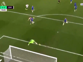 Townsend made no mistake after being slipped in behind. Screenshot/beINSport