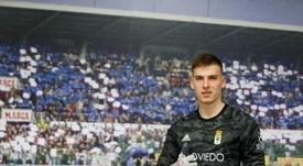 Lunin quiere volver al Madrid. RealOviedo