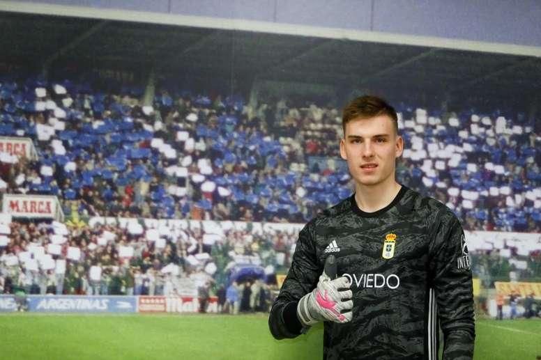 Lunin refuerza al Oviedo. RealOviedo