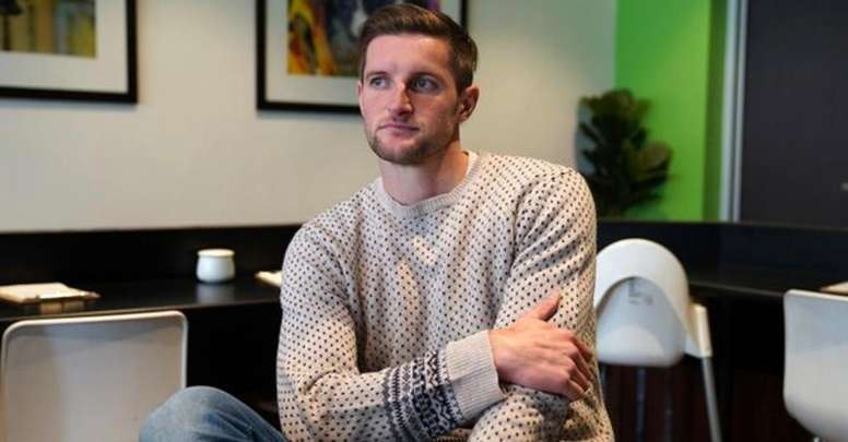 Former Newcastle Jets player Andy Brennan said he received strong support. Twitter/thepfa