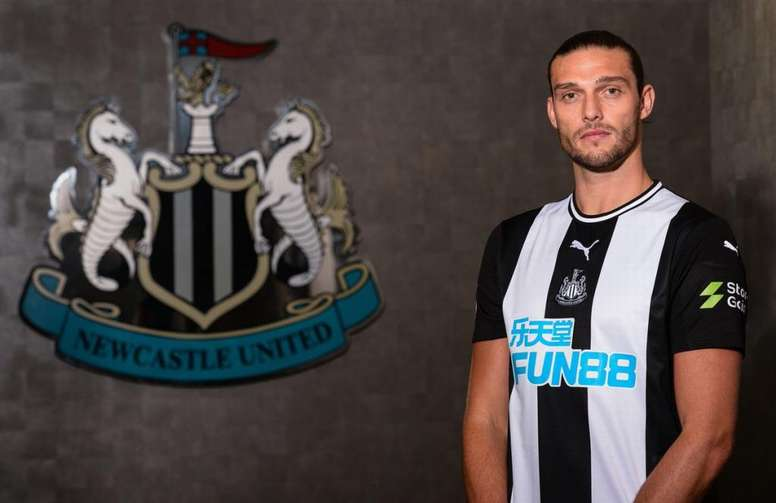 Andy Carroll is looking to return to his best at Newcastle. NUFC