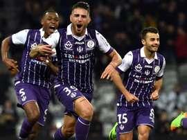 Delort intéresse Montpellier mais pas à n'importe quel prix. AFP