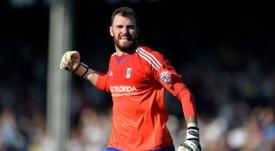 Andy Lonergan ha cambiado el Fulham por el Wolverhampton Wanderers. Archivo/AFP/EFE