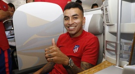 Correa, cada vez más cerca de salir. Twiiter/Atlético