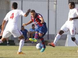 Ángel Trujillo, durante un partido con el Levante. LevanteUD