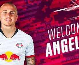 Angelino, prêté à Leipzig. Twitter/DieRotenBullen