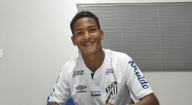 Santos ata en corto al 'nuevo Neymar'... ¡y podría debutar con 15 años! Twitter/SantosFC