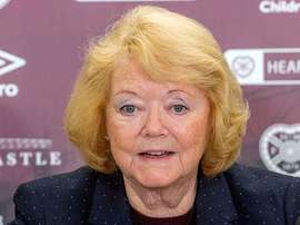 Ann Budge is threatening to freeze the Hearts players' salaries. Heartsfc