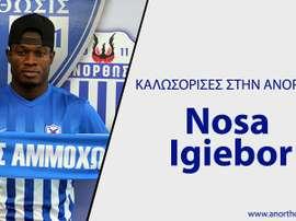 Nosa Igiebor quitte la MLS. AnorthosisFC