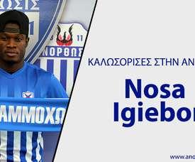 Nosa Igiebor abandonó la MLS. Anarthosis