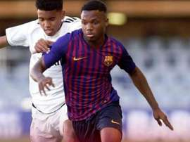 Fati is the youngest player to play for Barca in a long time! fcbarcelona