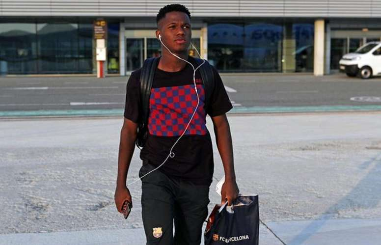 Sporting gave their version of events after Ansu Fati's father's comments. FCBarcelona