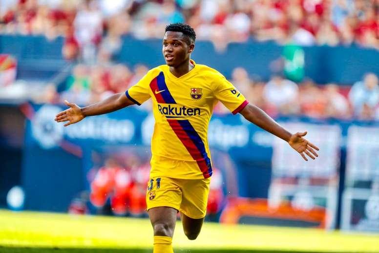 O boom de Ansu Fati. FCBarcelona