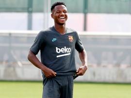Ansu Fati já é espanhol. FCBarcelona