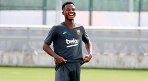 Ansu fati, giovanissimo prodotto della Masia del Barça, e' originario della Guinea-Bissau. Goal