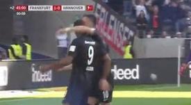 Le Croate a marqué en Bundesliga. Capture/FoxSports
