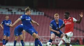 Gordon seguirá en el Everton. Twitter/Everton