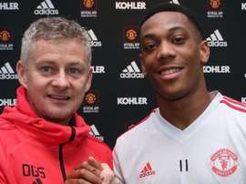 Martial renovou com o Manchester. ManUtd